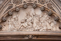 Relief artwork on the walls of Grace Church. New York. - Photo #25310