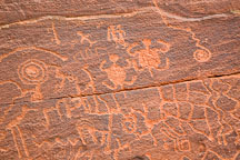 Turtle petroglyphs. V-Bar-V Ranch, Arizona, USA - Photo #17810