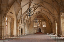 Vladislav Hall in Prague Castle. - Photo #29710