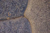 A close up view of how precisely the Incan's shaped the rocks at Ollantaytambo.