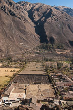 The quarry for the rocks at Ollantaytambo was located across the valley.