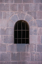 Cathedral window. Cusco, Peru. - Photo #9228