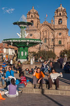 Plaza de Armas and Iglesia de la Compania de Jesus. Cusco, Peru. - Photo #9257