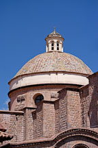 Rotunda of The Church of the Company of Jesus. La Compania de Jesus. Cusco, Peru. - Photo #9477