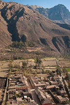 View from Ollantaytambo. Sacred Valley, Peru. - Photo #9162