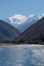 Urubamba river. Sacred Valley, Peru. - Photo #9199