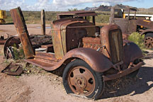 Abandoned car. Goldfield, Phoenix, Arizona, USA. - Photo #5511