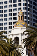 Dome of Sante Fe Depot. San Diego. - Photo #26111