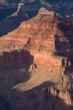 Light and shadows on the canyon. Grand Canyon NP, Arizona. - Photo #17311