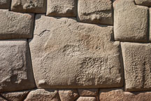 The twelve angled stone in Cusco