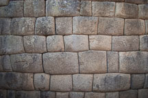 Incan wall. Machu Picchu, Peru. - Photo #10028