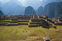 Principal Plaza of Machu Picchu. Peru. - Photo #10096