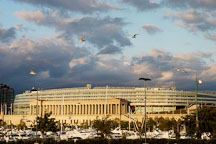 Soldier Field in the early morning. Chicago, Illinois, USA. - Photo #10692