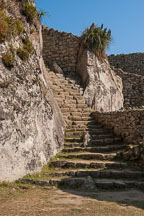 Stairs at Machu Picchu, Peru. - Photo #10051