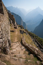 Stone steps. Machu Picchu. Peru. - Photo #10041