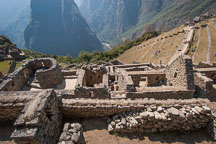 Temple of the Sun. Machu Picchu, Peru. - Photo #10105