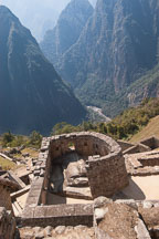 Temple of the Sun. Machu Picchu, Peru. - Photo #10108
