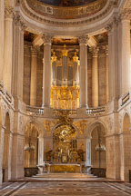 Chapel of the Palace of Versailles. Versailles, France. - Photo #31712