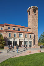 Eaton Humanities building at University of Colorado Boulder. - Photo #33112