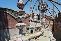 The prow. Watts Towers. Watts, Los Angeles, California, USA. - Photo #6812