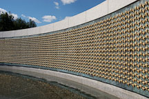 Freedom Wall at the National World War II Memorial. Washington, D.C., USA. - Photo #11456
