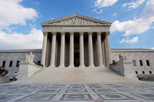 The U.S. Supreme Court building. Washington, D.C., USA. - Photo #11260