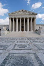 The U.S. Supreme Court. Washington, D.C., USA. - Photo #11262