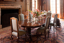 Dining room at Filoli Gardens. - Photo #24613