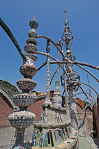 Watts Towers. Watts, Los Angeles, California, USA. - Photo #6813
