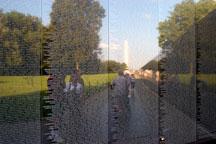 Vietnam Veteran's Memorial Wall. Washington, D.C. - Photo #1813