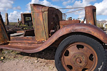 Dilapidated car. Goldfield, Phoenix, Arizona, USA. - Photo #5514