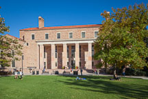 Norlin Library, CU Boulder. - Photo #33114