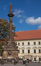 Plague Column with the Virgin Mary. Prague, Czech Republic. - Photo #30014