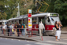 The famous Tram 22 in Prague. Czech Republic. - Photo #32014