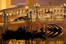 Canals at the Venetian. Las Vegas, Nevada, USA. - Photo #13505