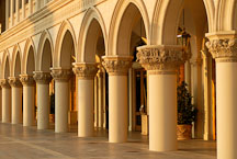 Columns at the Venetian. Las Vegas, Nevada, USA. - Photo #13416