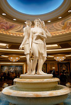 Female statues. Caesar's Palace, Las Vegas, Nevada, USA. - Photo #13542