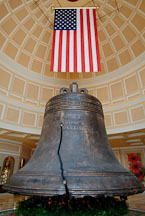 Liberty bell replica. The Bellagio, Las Vegas, Nevada, USA. - Photo #13537