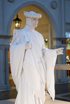 Living statue. The Venetian Resort Hotel Casino, Las Vegas, Nevada, USA. - Photo #13398