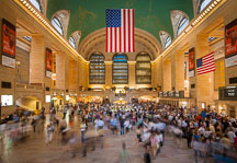 Main concourse of Grand Central Station. New York City, New York, USA. - Photo #13018