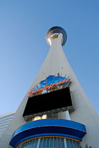 The Stratosphere tower, hotel, and casino. Las Vegas, Nevada, USA. - Photo #13564