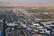 Urban sprawl Las Vegas, Nevada, USA. - Photo #13572