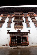 Entrance to the main tower at Paro Dzong. Paro, Bhutan. - Photo #24015