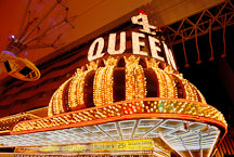 4 Queens Hotel and Casino. Las Vegas, Nevada, USA. - Photo #13715