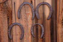 Horseshoes. Tortilla Flat, Arizona, USA. - Photo #5615
