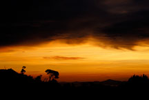 Sunset over Monteverde. Costa Rica. - Photo #14198