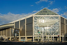 Early morning at the HP Pavilion (San Jose Arena). San Jose, California, U.S.A. - Photo #14536