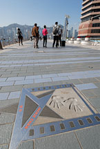 Jackie Chan's star. Avenue of Stars, Hong Kong China. - Photo #14806
