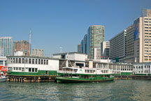 Star Ferry at Kowloon Pier. Kowloon, Hong Kong, China. - Photo #14839