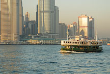 The Star Ferry carries passengers from Hong Kong Island to Kowloon. Hong Kong, China. - Photo #14699